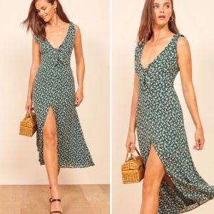 REFORMATION Harper Print Midi Dress size 4